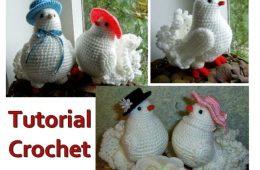 tuto colombe blanche au crochet