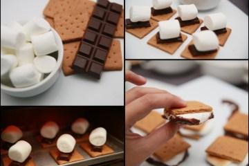 Biscuit-Sandwich-Au-Guimauve-Et-Chocolat