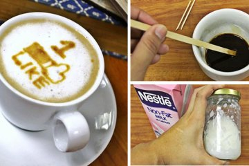 comment-faire-latte-art-café