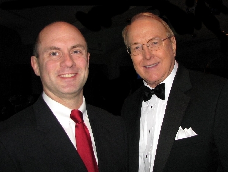 AFA-Michigan President Gary Glenn with Focus on the Family Founder Dr. James Dobson