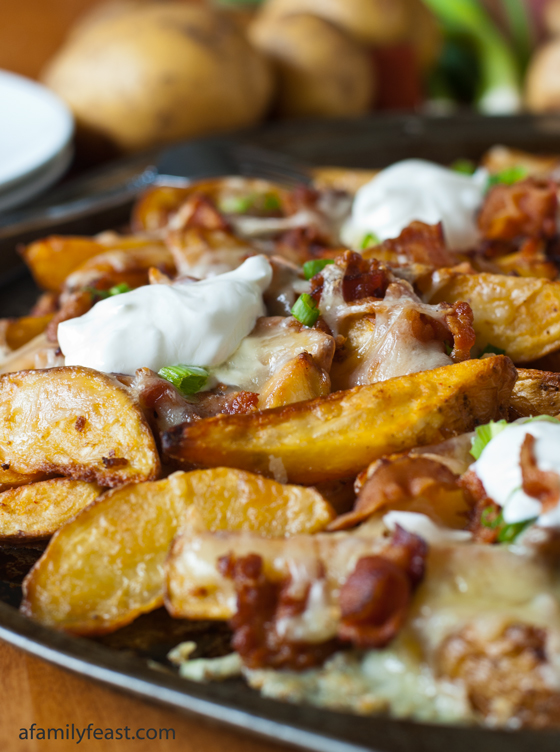 Loaded Pub Fries - A Family Feast