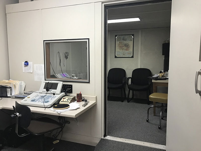 Family Hearing Center Hearing Booth