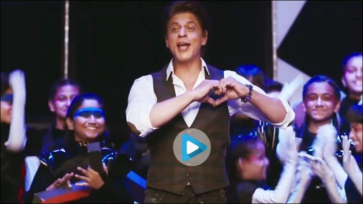 Shahrukh Khan in a film for Byju's