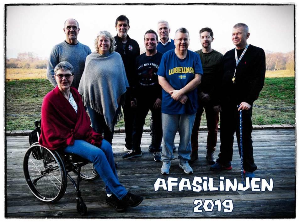 afasilinjen 2019 - gruppfoto