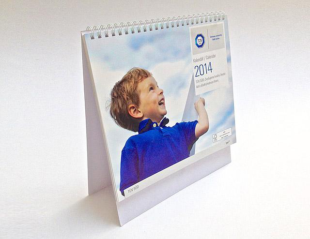 Tisk stolních kalendářů - tiskárna Praha AF BKK