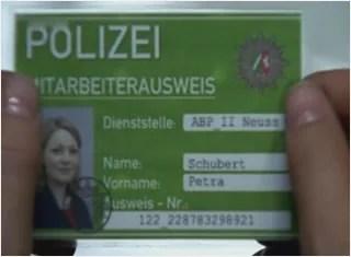 Карта за идентичност на Петра Шуберт