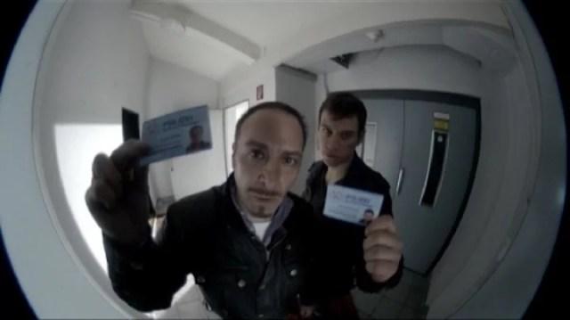 Карти за идентичност на Семир Геркан (нова) и Алекс Брандт