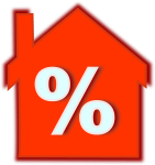 house with percentage