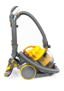 yellow and gray vacuum