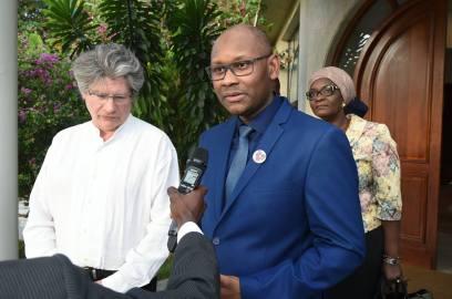 Dr Ly et Dr Bertrand en mission en Cote d'Ivoire mai-2017
