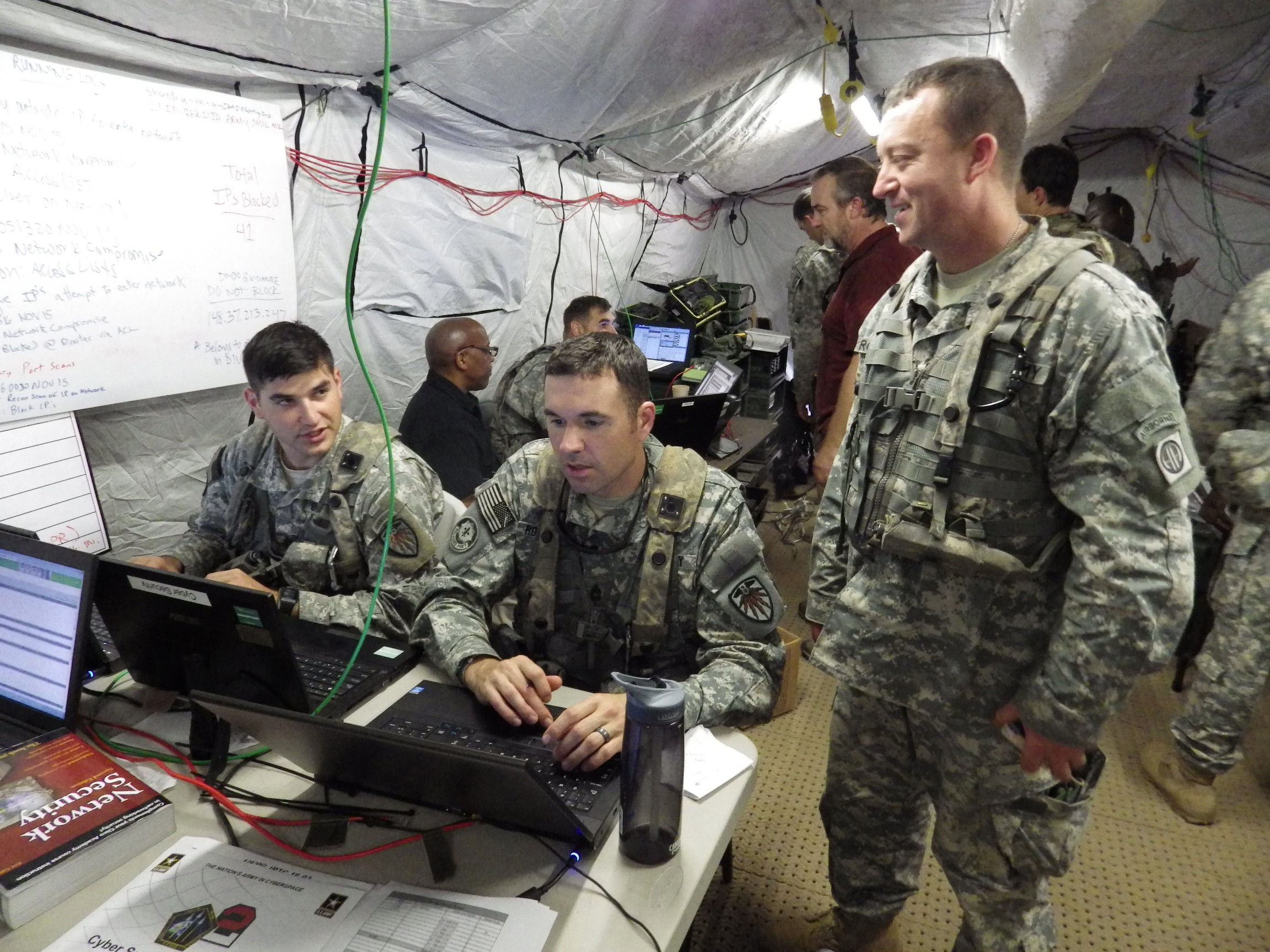 Taking Cyber War To The Front Lines