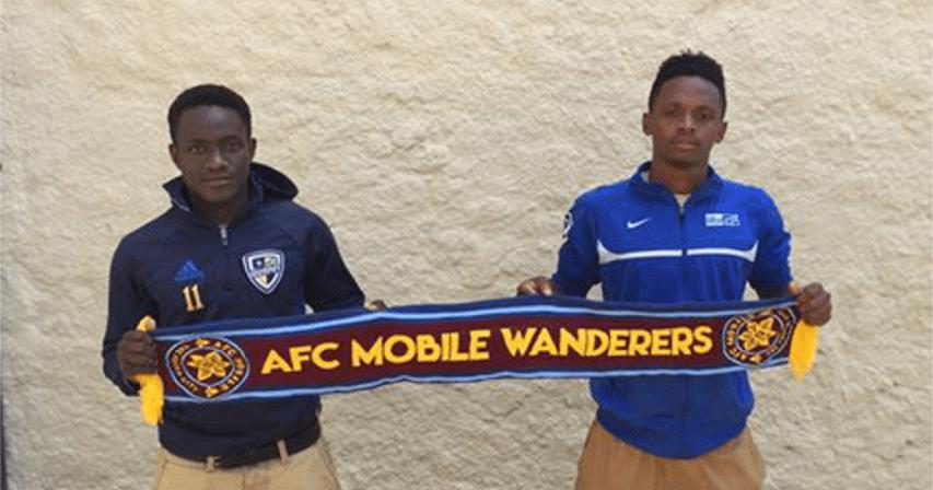 Amos Ndikumana and KC Espoir