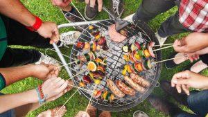 barbecue en copropriété