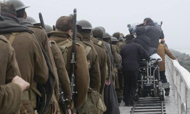 Dunkirk backstage