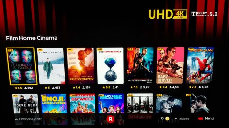 Rakuten TV streaming 4K