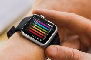 Apple Watch - Pride Face
