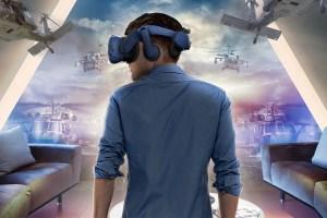 CES 2019 HTC a tutto Virtual Reality