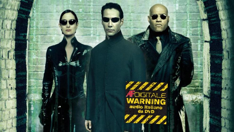 Matrix Reloaded Revolutions