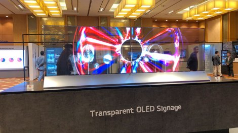OLED trasparente