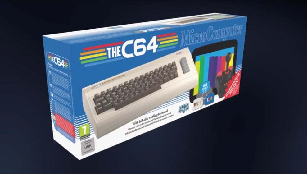 Bisura Felpa Commodore 64 Vintage