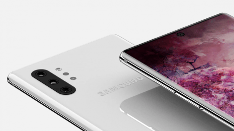 galaxy note 10 plus home