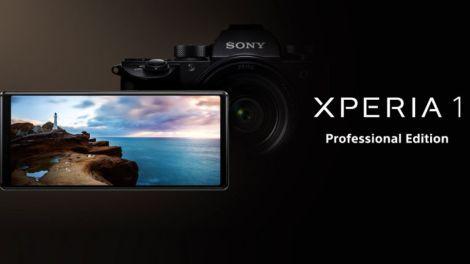 Xperia 1 Professional Edition Home