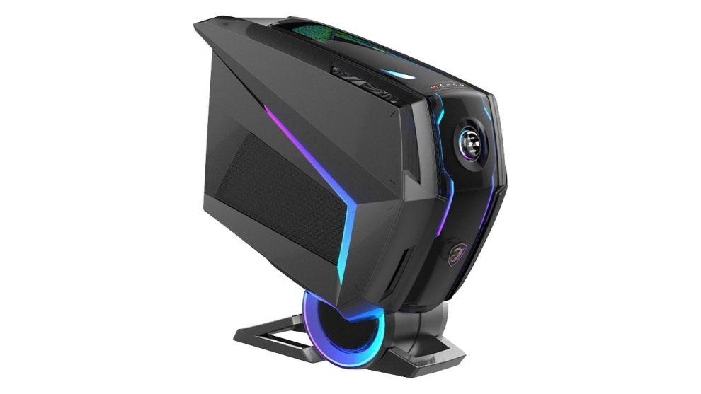 CES 2020: MSI AEGIS TI5, il PC che si gestisce dallo chassis
