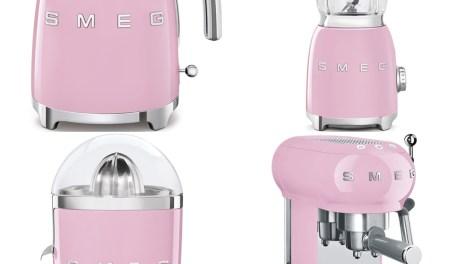 Smeg e gli elettrodomestici in rosa per la festa della mamma