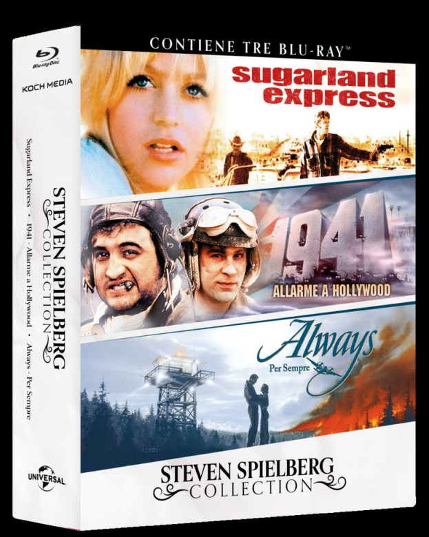 Steven Spielberg Collection – Sugarland Express [BD]