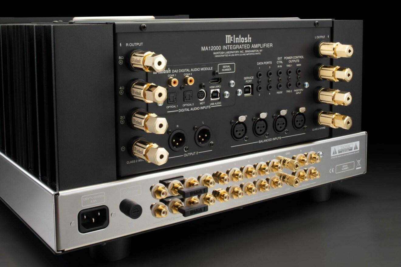 Mcintosh MA12000: 350 watt in guanto di velluto.