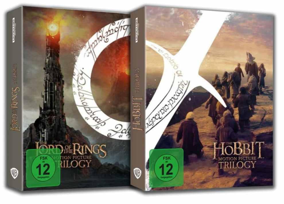 Signore degli Anelli e Hobbit in Ultra HD Blu-ray: spunta la data del 3 dicembre