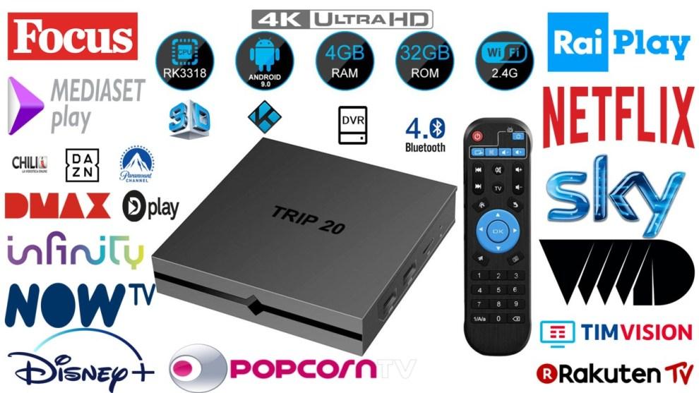 Android Tv Box – Ringiovanire la televisione