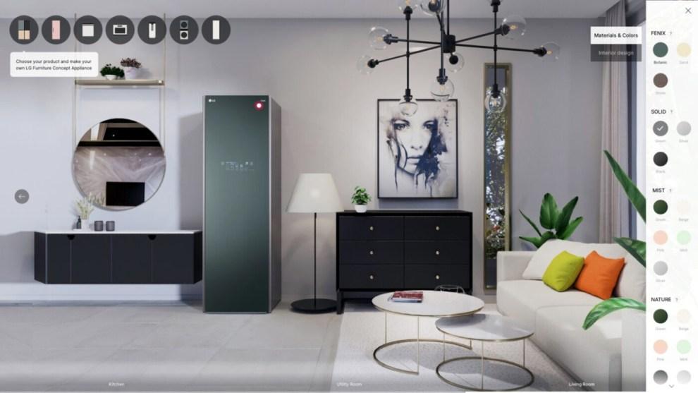 CES 2021 - LG e i Furniture Concept Appliances