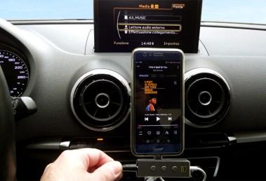 Musica HiRes anche in auto