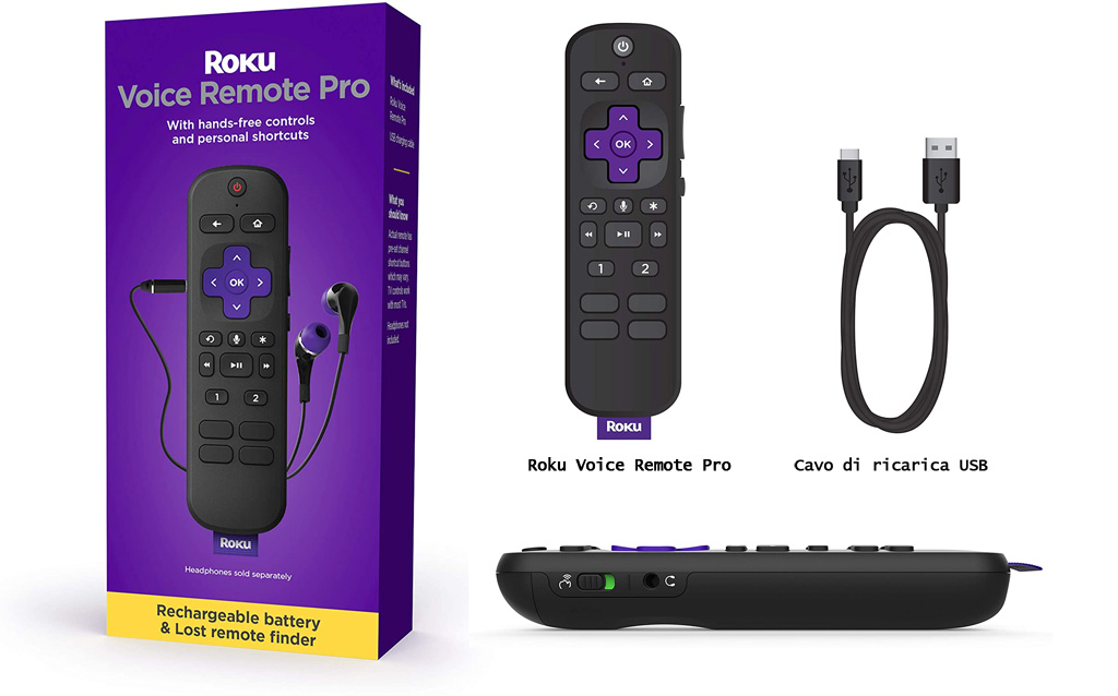 remote Pro_presa cuffie