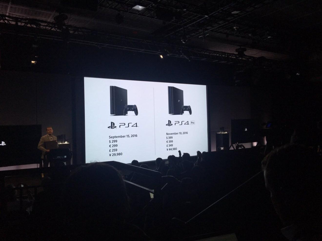 svelata PS4 Pro