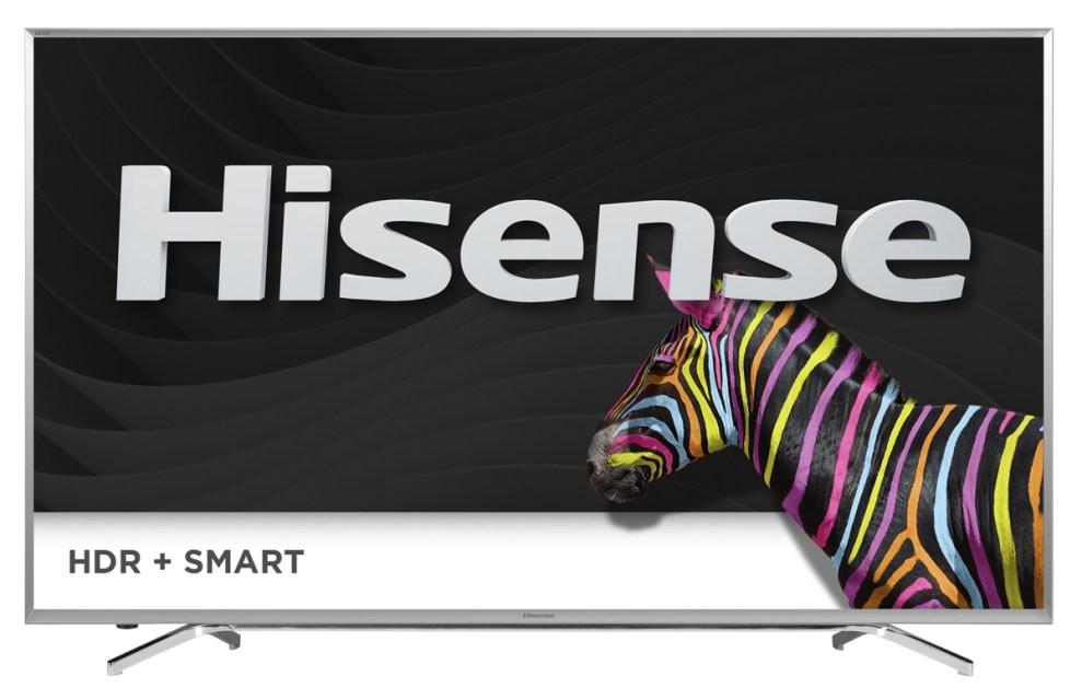 hisense tv 70h10 front