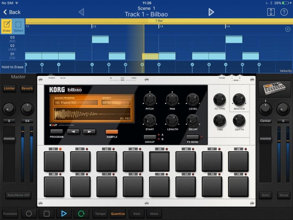 Korg Gadget App iOs apretura