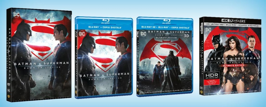 Batman v Superman - Dawn of Justice [Blu-ray]
