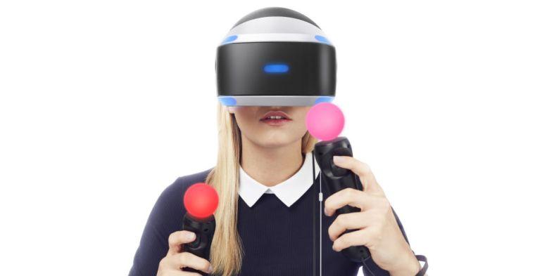 controlli PlayStation VR