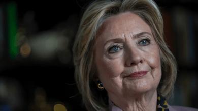 Photo de Hillary Clinton sur un projet d'anthologie politique