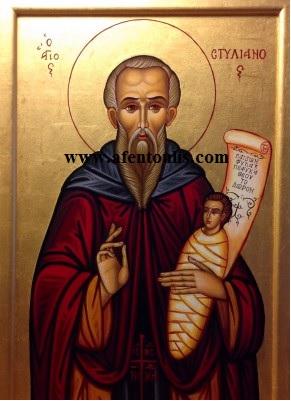 Αποτέλεσμα εικόνας για Ο Αγιος Στυλιανος