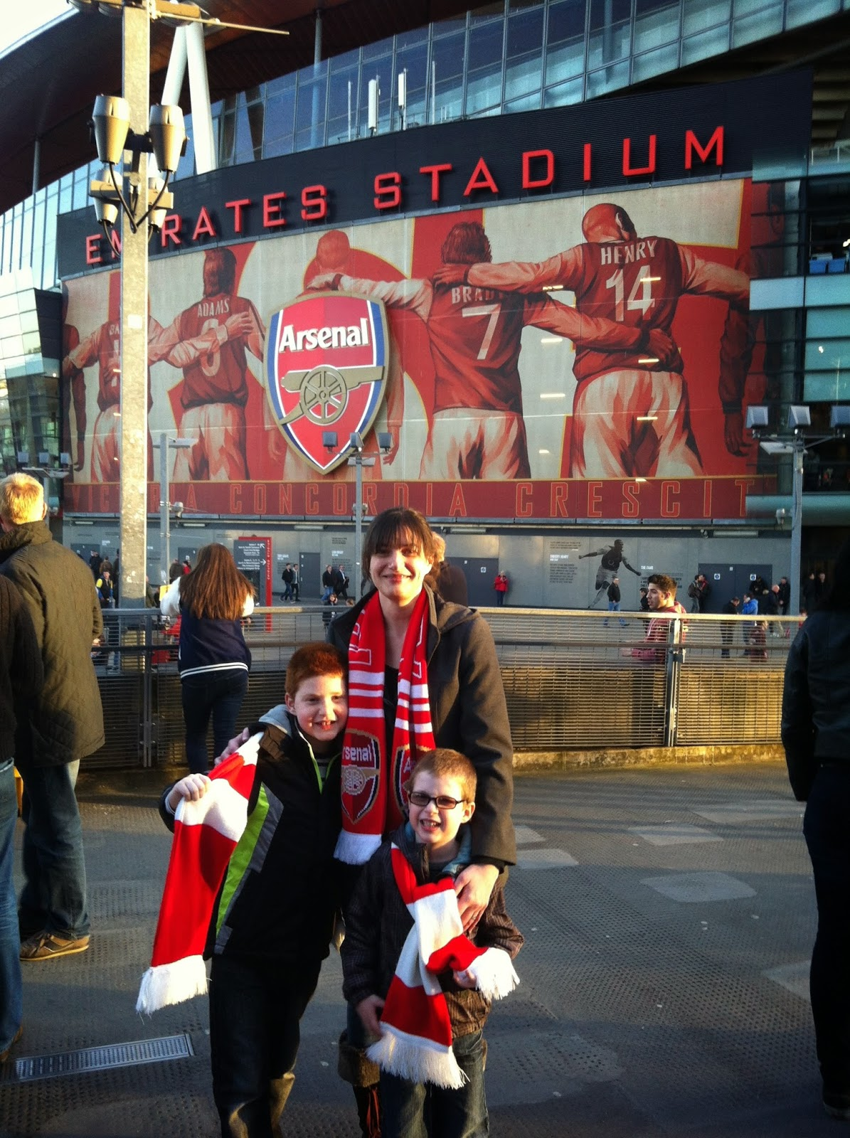The Arsenal experience