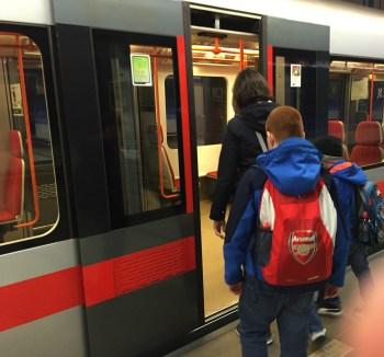 Metro in Prague