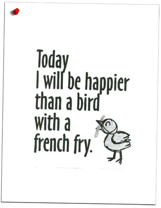 Bird n' French Fry