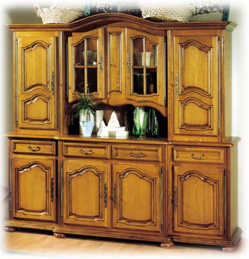 meuble chene massif style louis xiv