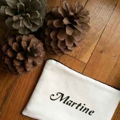 Pochette Martine