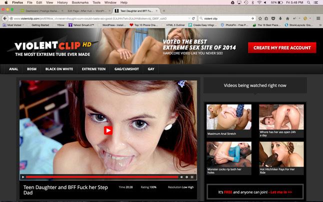 Violentclip Porn Site Ui