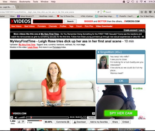 Porn Video Playing On Xvideos User Interface