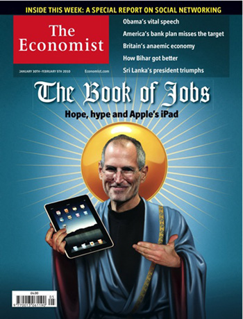 The book of Job- Steve Job presenta l'Ipad